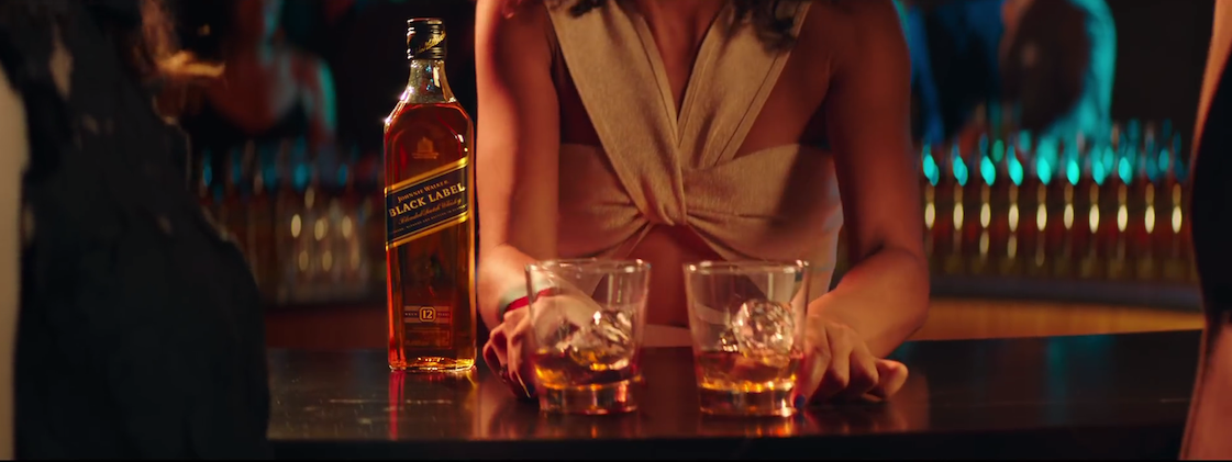 Johnnie Walker's Dress Ad
